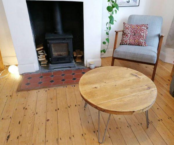 muebles de salon rustico moderno