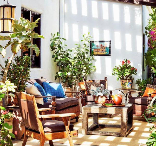patios interiores diseño