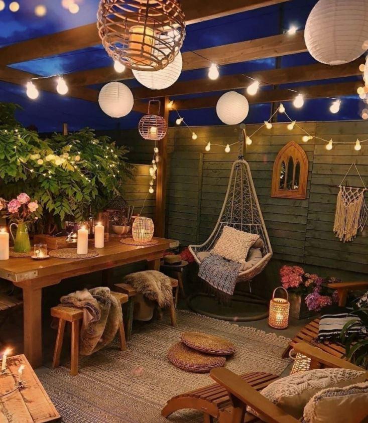 patios interiores pequeños con encanto