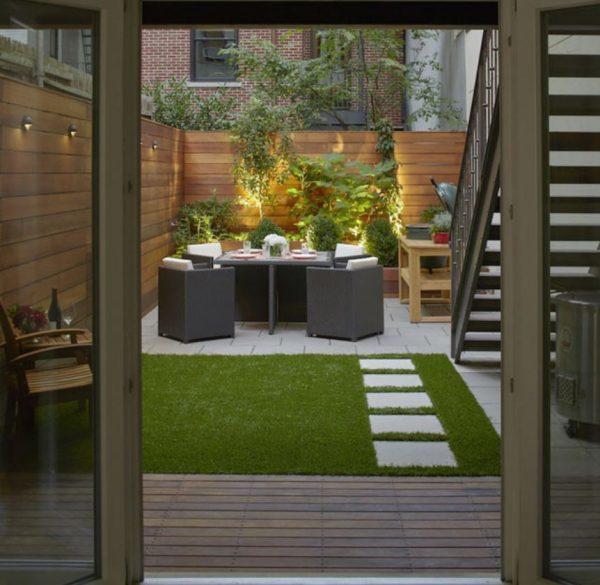 patios modernos fotos