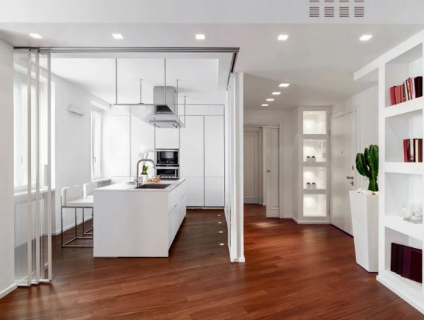 puertas plegables para cocinas modernas