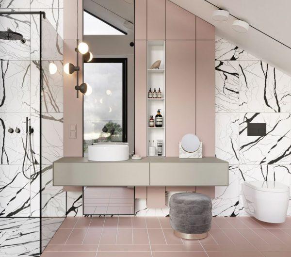 tocador para baño moderno