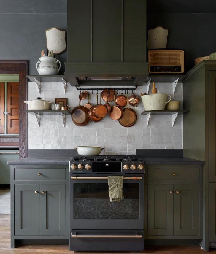 cocinas rusticas oscuras inspiracion