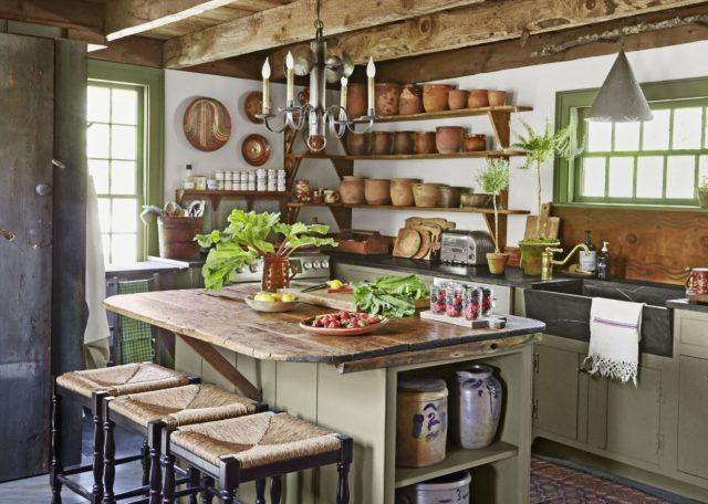 como decorar cocinas rusticas decorarcongusto