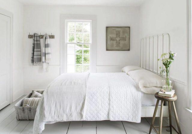 como decorar habitaciones de matrimonio blancas