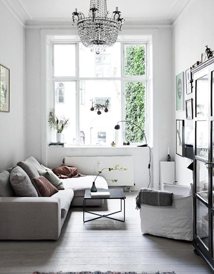 como decorar salones estrechos y largos