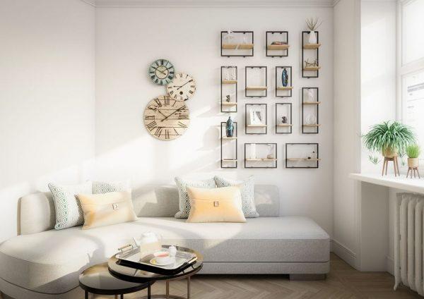 como decorar un salon pequeño rectangular