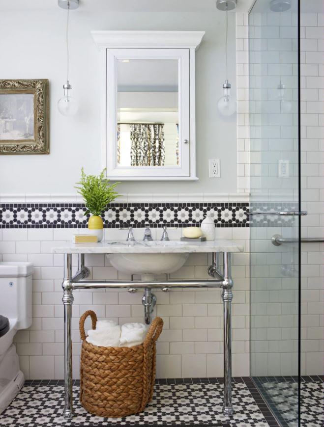 decoracion baño pequeño