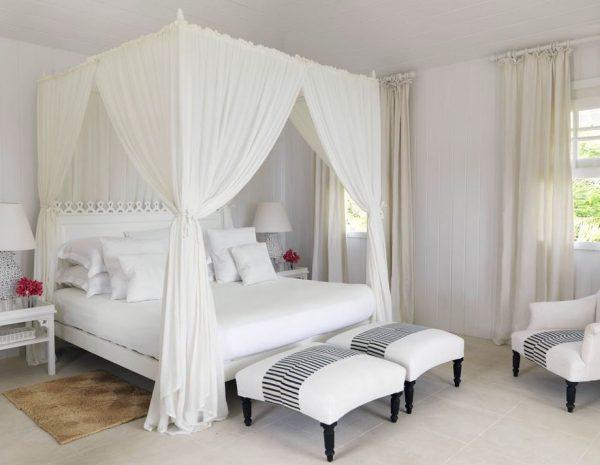 decoracion de dormitorios de matrimonio en blanco