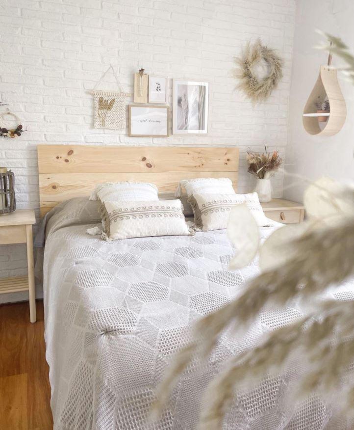 decoracion habitacion blanca