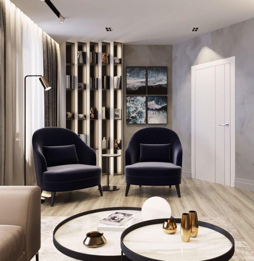 decoracion salones rectangulares