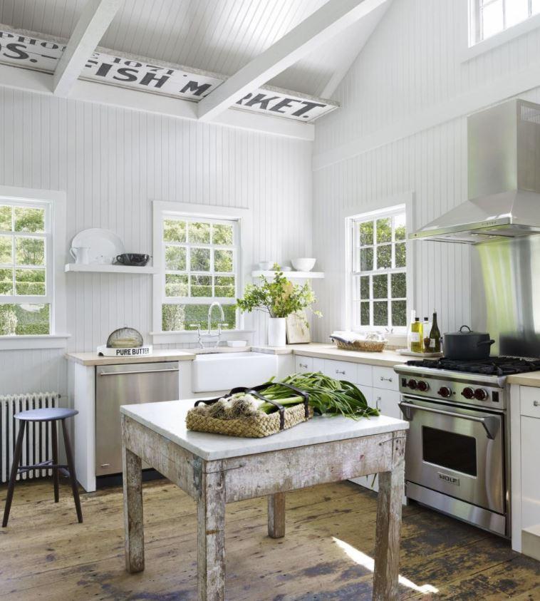 decorar cocina rústica pequeña