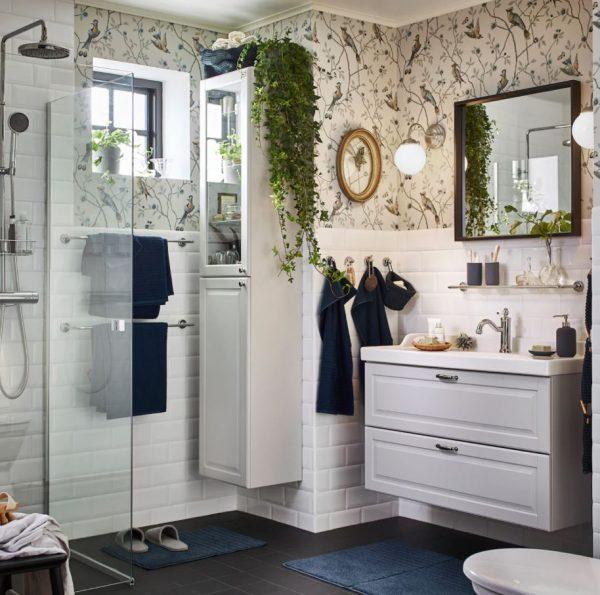 decorar el mueble de lavabo