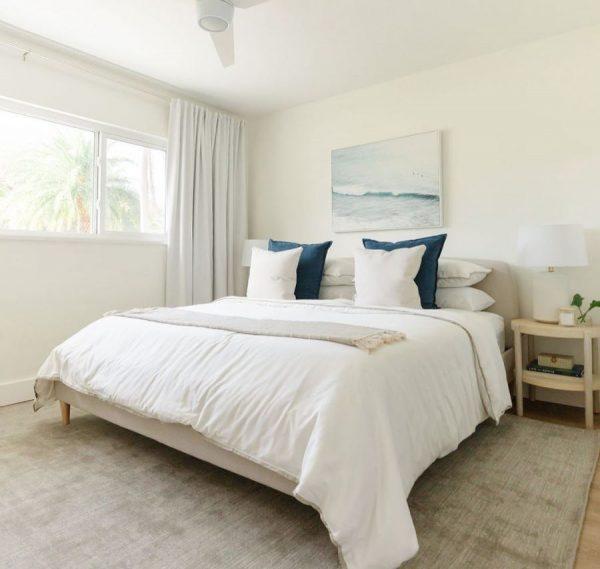 decorar habitacion matrimonio blanca