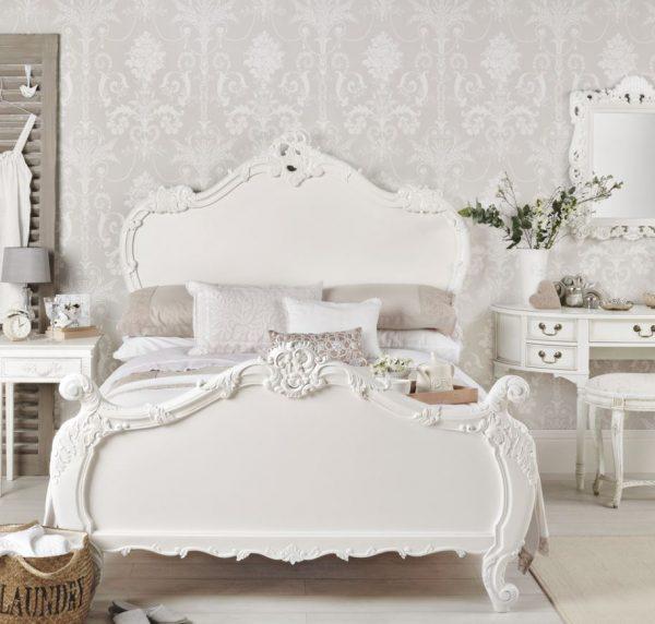 decorar habitacion matrimonio muebles blancos