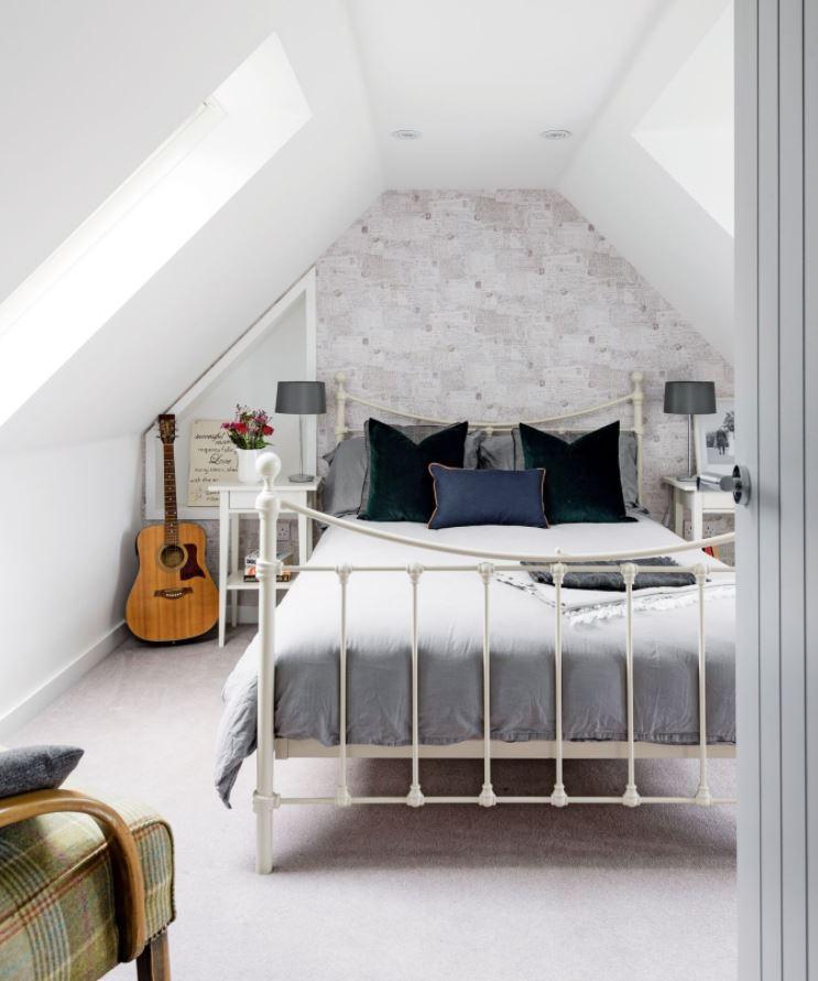 decorar habitaciones de matrimonio blancas