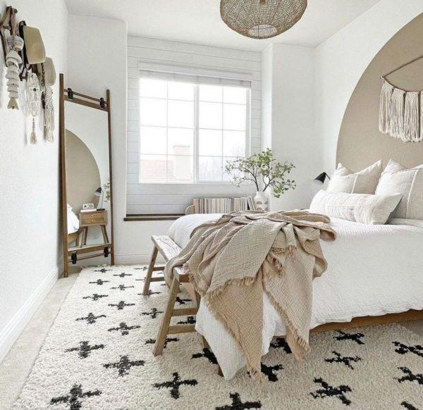 dormitorios clasicos blancos marrones
