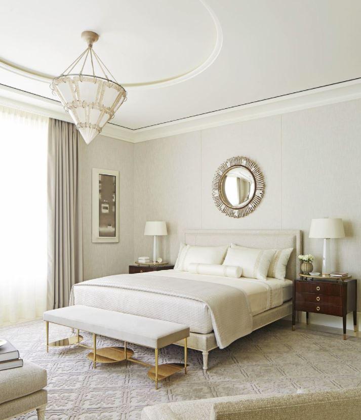 dormitorios con muebles blancos y marrones