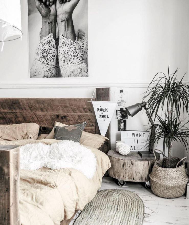 dormitorios de matrimonio blancos cabecero
