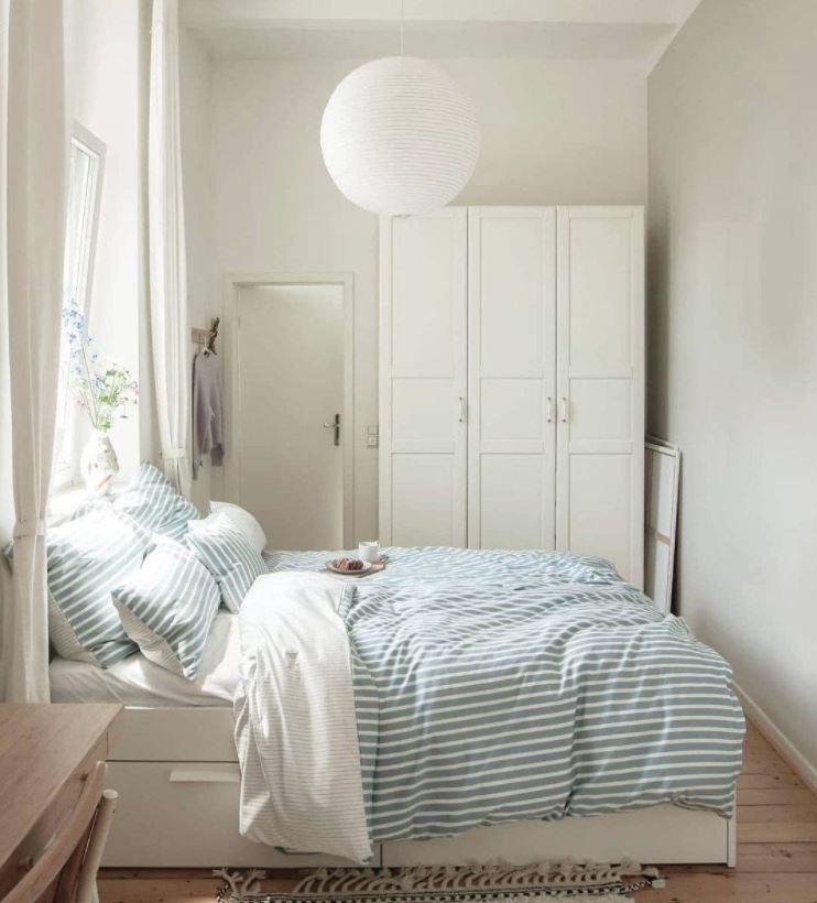 dormitorios de matrimonio blancos originales