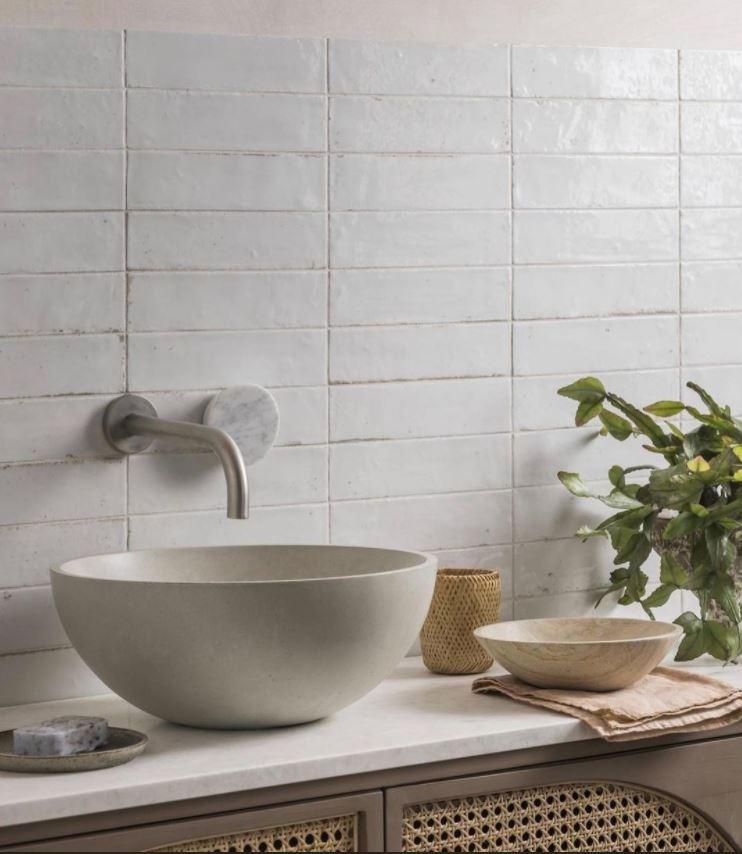 fregadero baño estilo rustico