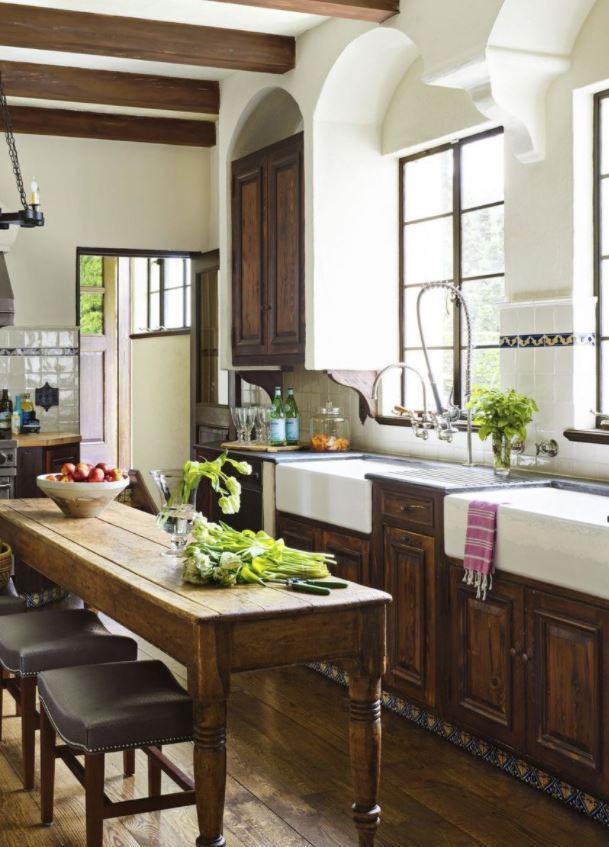 fregadero de cocina vintage