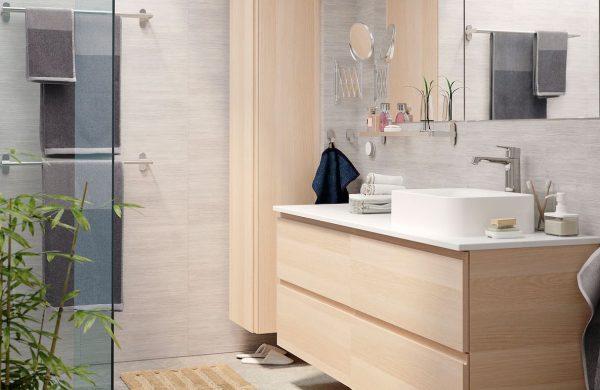ideas para decorar lavabos pequeños