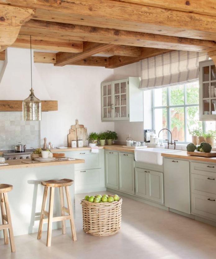 ideas para decorar una cocina rustica