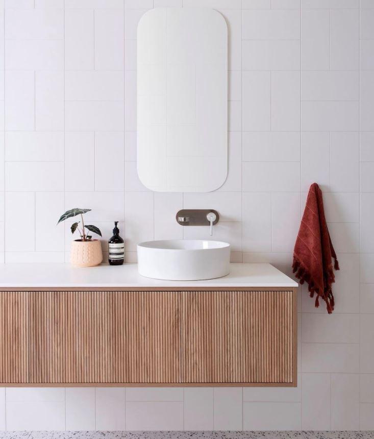 lavabo baño con mueble
