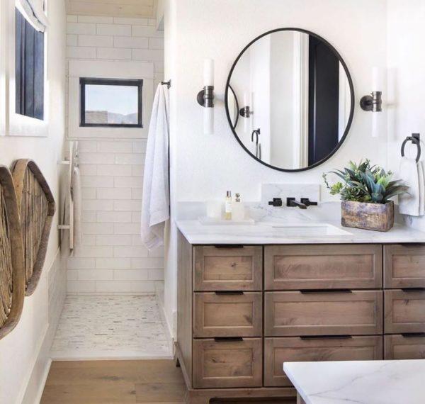 lavabo de madera para mueble