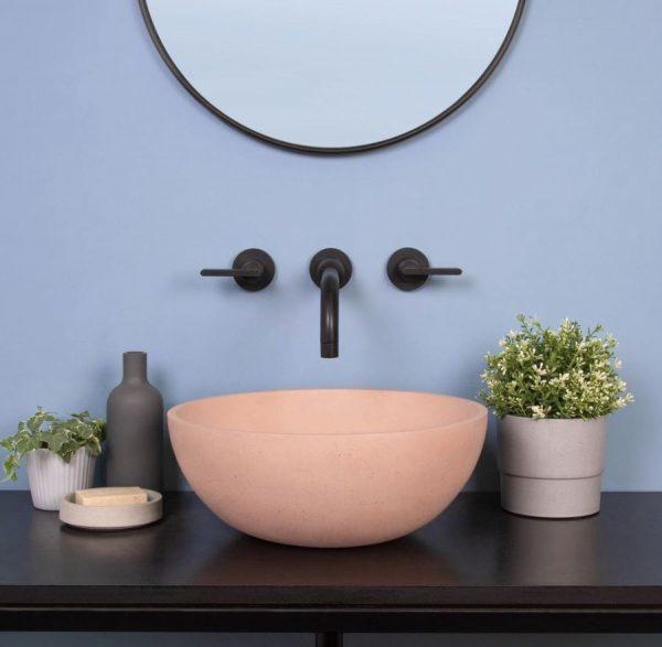 lavabos modernos para baños pequeños