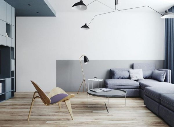 salones modernos alargados