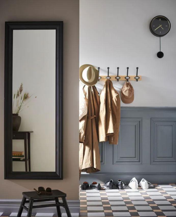ideas para decorar recibidor con espejos