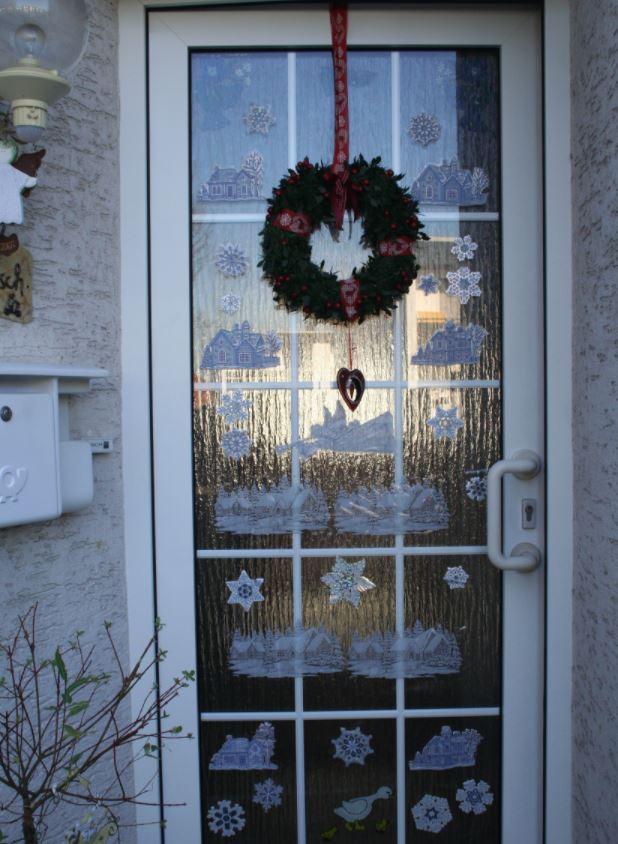 decoracion puertas de navidad