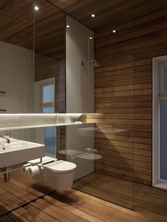 Iluminación baño 4 m2