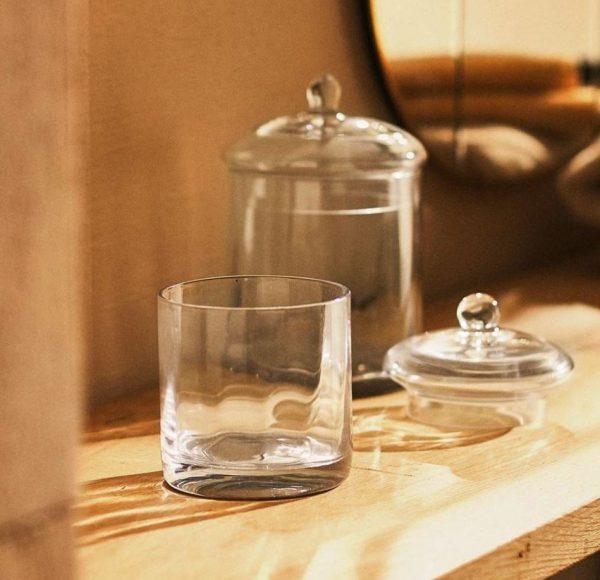 accesorios de cristal para baños