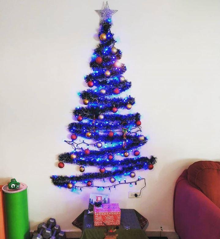 arbol de navidad original hecho en casa