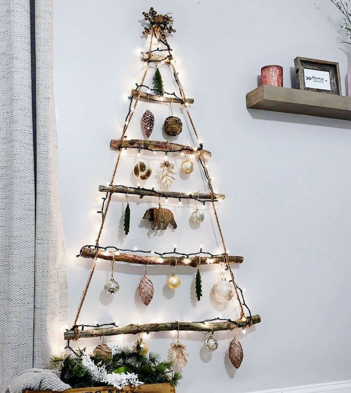 arbol navidad madera personalizado