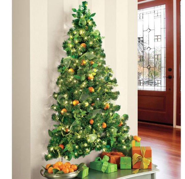arboles de navidad paredes