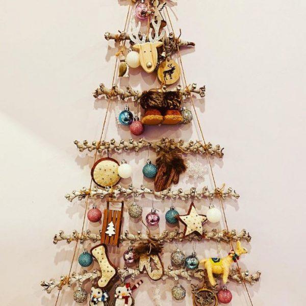 arbolito de navidad decorado