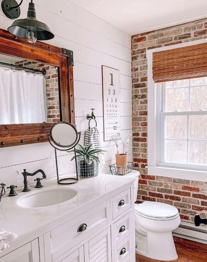 azulejos rusticos para baños