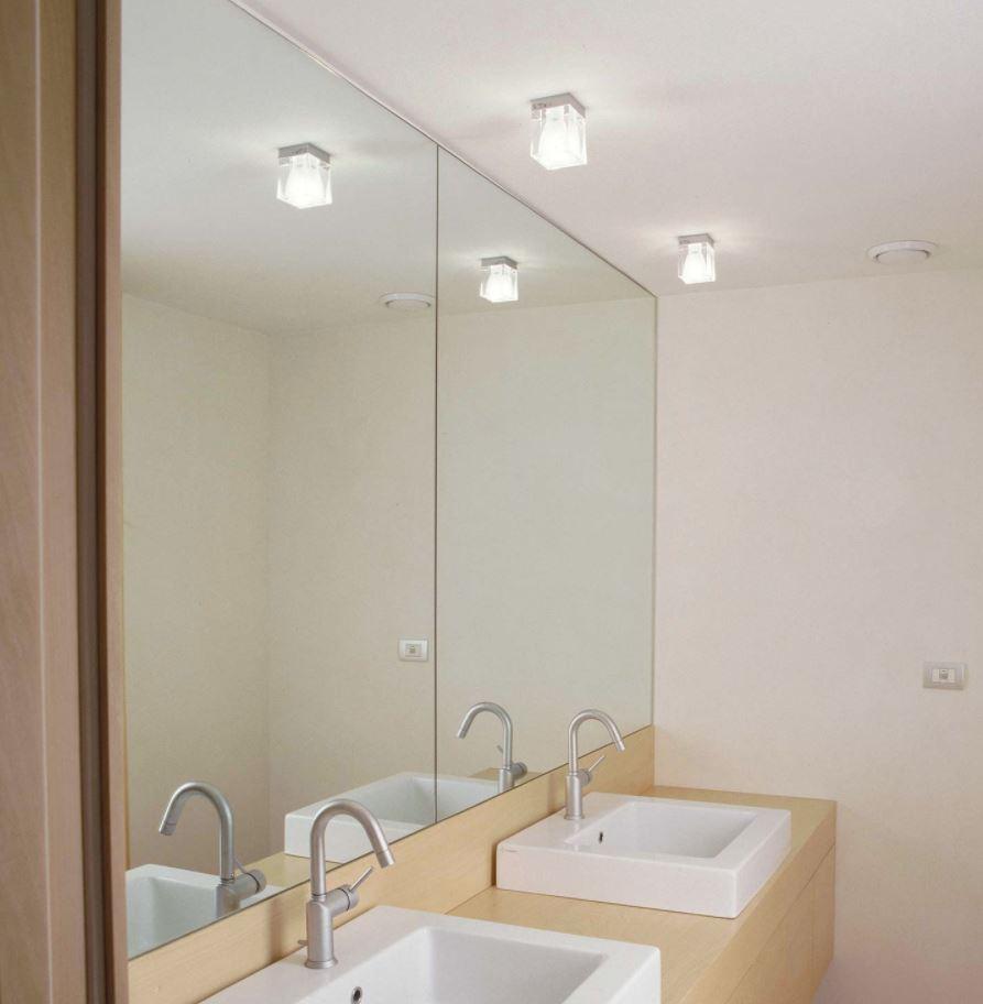 baño pequeño sin ventanas