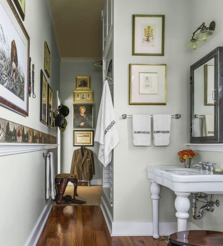 baño rustico moderno pequeño