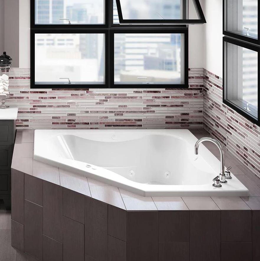 baños de lujo con jacuzzi