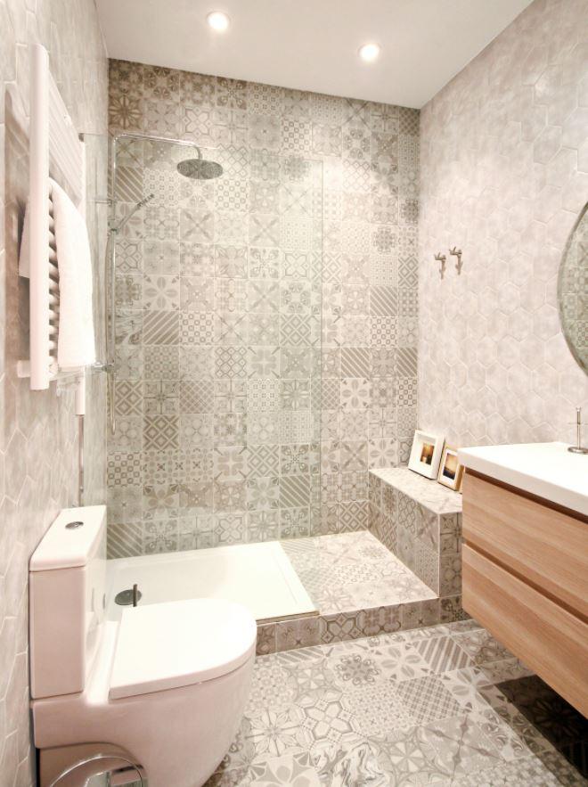 baños estilo bohemio