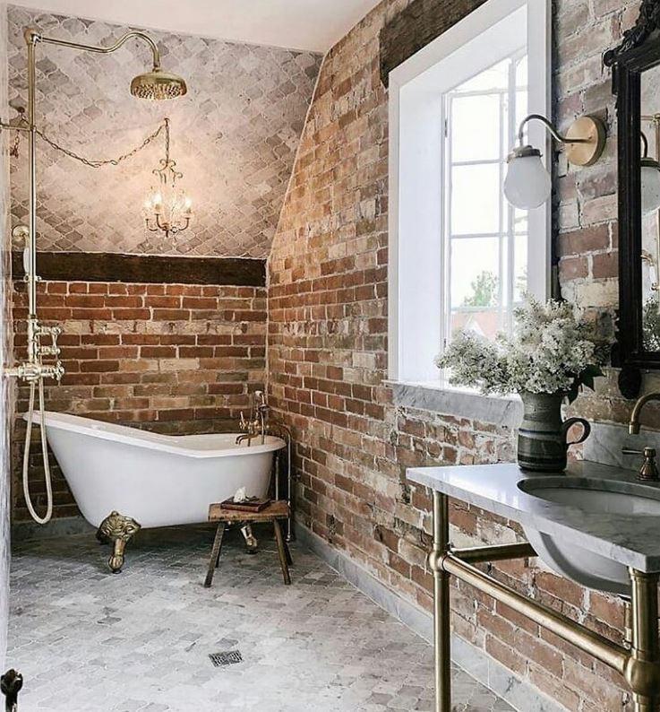 baños rusticos modernos fotos