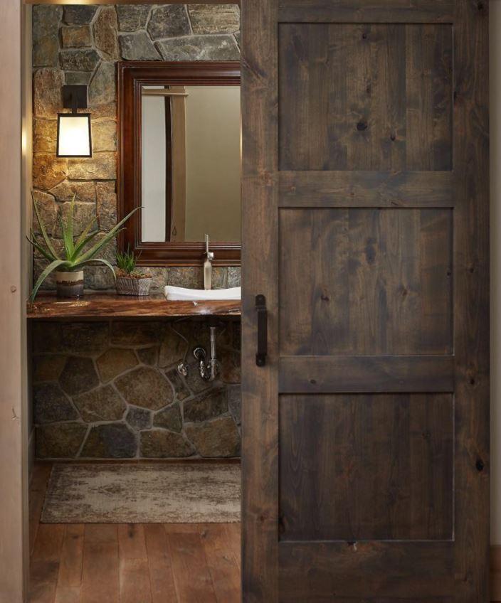 baños rusticos muy pequeños