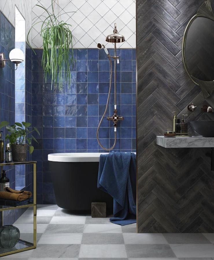 cómo decorar un baño con plantas naturales