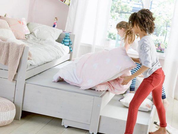 cama nido infantil con cajones