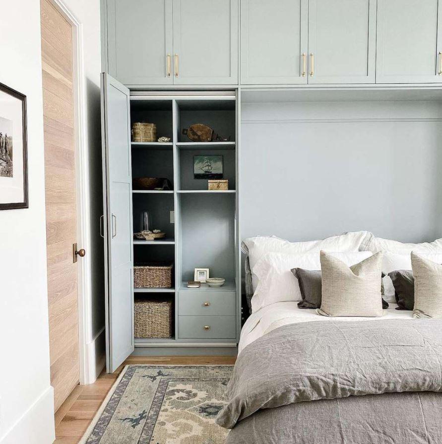 cama plegable con mueble